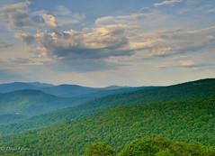 Range View Overlook (dngovoni) Tags: shenandoah virginia clouds landscape landscapemountain sky skylinedrive summer sunrise running capture