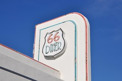 3-083 66 Diner SIgn (megatti) Tags: 66diner albuquerque desert diner newmexico nm restaurant route66 sign