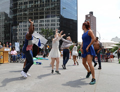 Elisa Monte Dance Performance (NYCDOT) Tags: elisa monte dance elisamonte elisamontedance citibike citisummerstreets summerstreets astorplace astorplaceplaza