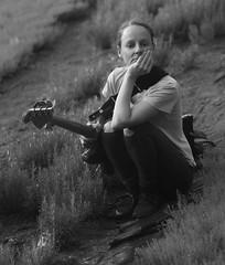Ruth Goller (valterboccalari) Tags: music artist bass doublebass songwriters composer bw londonmusic