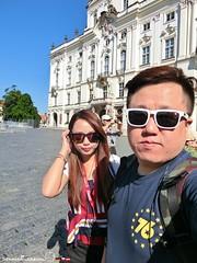 Honeymoon Day3 012 (song A) Tags: honeymoon europe czechrepublic 布拉格 praha 布拉格城堡 pražskýhrad hradčany 布拉格城堡區 捷克