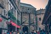 Porte de l'Avancée, Mont Saint-Michel (julesnene) Tags: bay bayofmontstmichel canon canon7dmark2 canon7dmarkii canonefs1755mmf28isusm france juliasumangil lemontsaintmichel mont montsaintmichel normandy portedelavancée unesco unescoworldheritagecentre unescoworldheritagesite abbey ancient commune fortification island julesnene landmark lowtide monastery rocky tidal travel fr