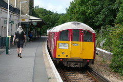 Shanklin departure (Elsie esq.) Tags: electricrailway isleofwight railways shanklin tubetrain