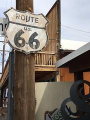 Route 66 - Oatman (1Flatworld) Tags: kodak z740