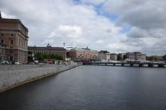 Stockholm (lucasual) Tags: stockholm cityscape skyline sky river water clouds architecture bridge