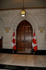 08-061 House of Commons Entrance (megatti) Tags: canada chamber doors flags houseofcommons on ontario ottawa parliament