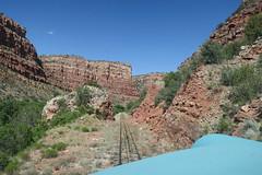 Red Rock (Arrowhead Fan) Tags: verdecanyonrailroad arizona vcrr fp7 emd