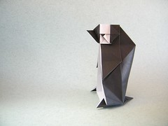 Baby Penguin - Yoshimasa Tsuruta (Rui.Roda) Tags: origami papiroflexia papierfalten manchot pinguim baby penguin ezuno kennosaya yoshimasa tsuruta