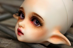 Faceup for my sweet Flowne - D.I.M. dolls (Cherryn&Dolls) Tags: dim faceup bjd flowne