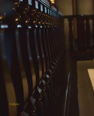 BANISTER (Vidya...) Tags: heritage hotel oberoi grand luxury burma teak banister fence friday shine rare expensive kolkata