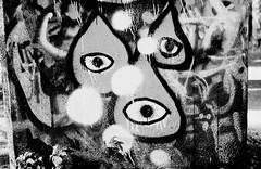 Graffiti Pier_007_01 (mujetdebois) Tags: halideproject canonelan100 35mm ilfordfp4plus400 graffitipier blackandwhite analogphotography biancoenero blackandwhitephotography filmisnotdead filmlives graffiti filmphotography monochrome negroyblanco noirblanc schwarzundweis streetart streetportrait черноеибелое