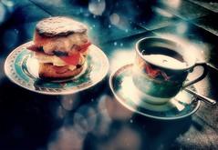 Cream Tea - Flying Fifteens - Lowestoft (suzyhazelwood) Tags: cream tea teacup creamteaday creamtea texture wallpaper food scones cakes canon