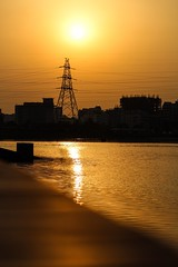 Golden Sunset (ibtihajtafheem) Tags: nature sunsets sunset sunrise sunsetlovers sunbeam sunsetporn sunsetlover sun sky skyporn golden goldenevening goldensky goldensunset naturelover naturelovers naturephotography naturel natureshots naturebeauty natureshot natureporn