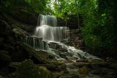 Summer Waterfalls (+Lonnie & Lou+) Tags: longexposure ohio landscape waterfall nisi sony travel explore summer green creek usa june forest day waterscape boulders nd filter