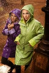 Raincoat (betrenchcoated) Tags: raincoat regenmantel regenjacke rain regen wet nass beautifulgirl patentcoat pu