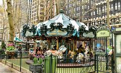 Le Carousel in Bryant Park (maaachuuun) Tags: bryantpark lecarrousel manhattan newyork horses carrousel nyc ny