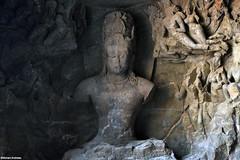 The Two Sides to 'Religion'. | Elephanta Caves, Mumbai. (Nishant Andrews) Tags: unesco incredibleindia india history travel nikon traveller naturaleza colorful 7dwf