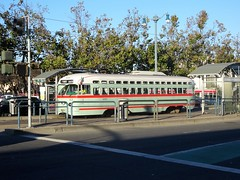 San Francisco Heritage Streetcars (bernarou) Tags: usa united states america american north northwest california san francisco city county sf northern the by bay golden fog fran heritage streetcars transport bus busses public