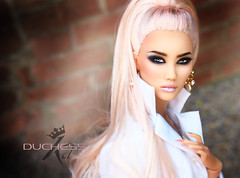 Duchess (kingdomdoll) Tags: duchess theduchess glamour fashiondoll fashion resinfashiondoll beauty kingdomdoll kingdom prettyinpink pink editorial resin doll demetae
