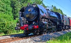 Soufflant, crachant... Vivant ! (Diegojack) Tags: vaud suisse bussigny locomotives vapeur 141r568 machine