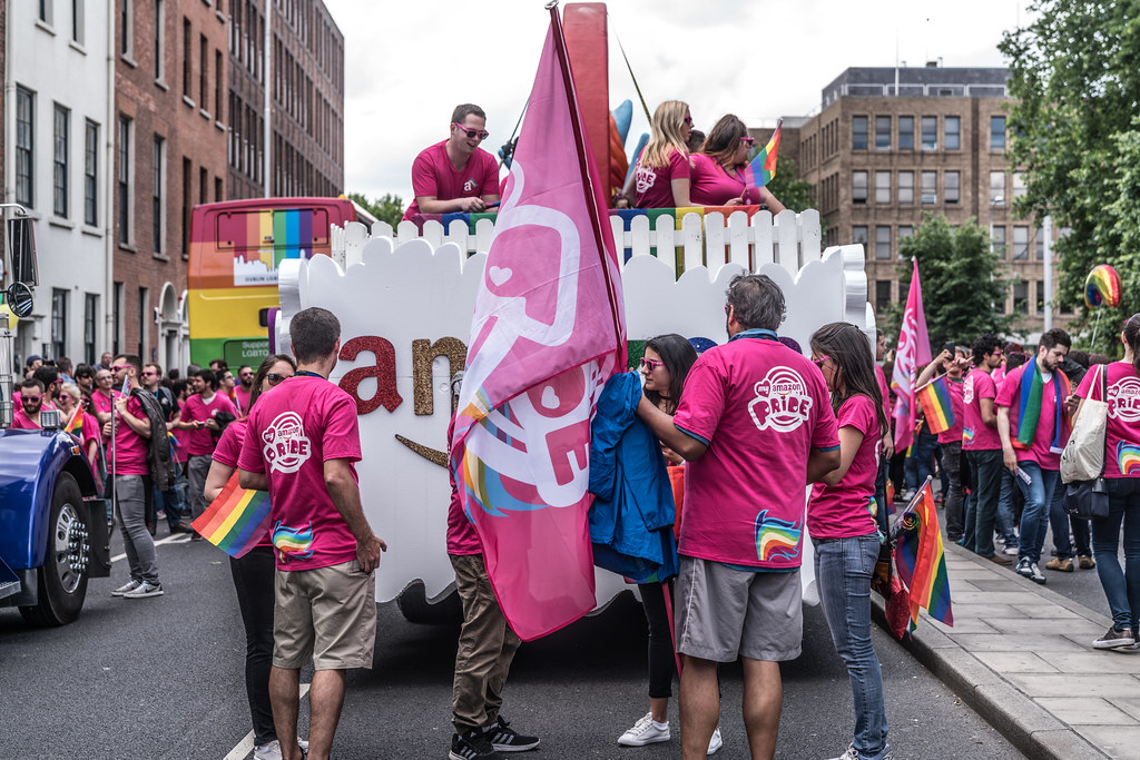 LGBTQ+ PRIDE PARADE 2017 [STEPHENS GREEN BEFORE THE ACTUAL PARADE]-129756