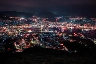 At Night In Nagasaki