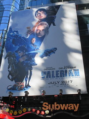 Valerian and the City of a Thousand Planets Billboard Poster 7949 (Brechtbug) Tags: valerian city thousand planets billboard poster times square nyc 2017 french science fiction comics series from 1967 valérian laureline written by pierre christin illustrated jeanclaude mézières film movie directed luc besson new york 06262017