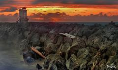 The Jetty (Don's Photostream) Tags: spooky bandon oregon sunset eerie stormy nikon 247028