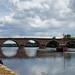 Bergerac, puente sobre La Dordogne