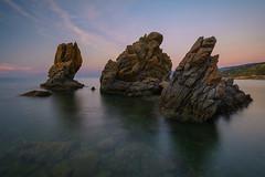 Mi cala (GorkaZarate) Tags: sicilia agrigento cefalu paisaje roca rock landscape nature naturaleza atardecer sunset nikon alavavision italia cala agua water filtros feliz vida life