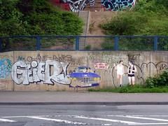 Graffiti in Köln/Cologne 2013 (kami68k -all over-) Tags: köln cologne 2013 graffiti illegal bombing chrome geier borderline