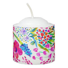 Cute colorful flowers pattern Candle (Forart Gift) Tags: cute colorful flowers pattern candle bougie vela kerze キャンドル kaars candela lys stearinlys ljus