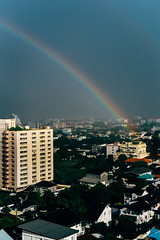 City Rainbow (norsez {Thx for 13 million views!}) Tags: 40mm apsc cmos fujifilm raw xpro1 xtrans classic fastlens fuji fujixpro1 fujifilmxpro1 lens manualfocus nokton voightlander xp1