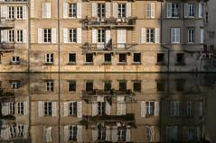 Metz (Yann OG) Tags: metz lorraine moselle est grandest reflet reflection fenêtre window architecture river fleuve sigma30mm cityscape placedelacomédie