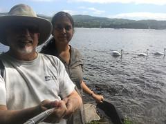 Troutbeck-Windermere-17.58 (davidmagier) Tags: aruna david hats lakes selfie sunglasses swans lakewindermere cumbria england gbr