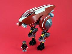 The Road Runner (BobDeQuatre) Tags: lego moc scifi runner