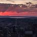 Seattle Cityscape Sunset Pano (www.mikereidphotography.com) Tags: seattle sunset pano 85mm zeiss otus