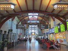 Train concourse, Centralstation, Gothenburg, Sweden (Paul McClure DC) Tags: gothenburg göteborg sweden sverige july2015 railroad railway historic architecture