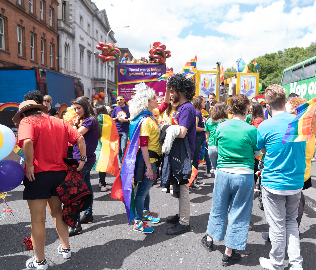 LGBTQ+ PRIDE PARADE 2017 [STEPHENS GREEN BEFORE THE ACTUAL PARADE]-129901