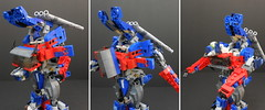 LEGO Optimus Prime The Last Knight (alanyuppie) Tags: lego transformers optimus cybertron autobot last knight tf5 western star truck westernstar matrix