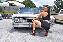 ALEXIS (18) (jadafiend) Tags: individualscc atlanta carshow picnic model poses minitrucks lowriders classics motorcycles baggers bigwheels friends family chevy dodge cadillac buick airbags hydraulics spokes wires chrome airbrushed paintwork molded shaved clean oldschool justjdmphotography justjdmphotog d7200 teamnikon bodydropped lifted custom hydros switches restored classic pedalcar bicycle gbody majestics highclass oldies stylistics supremes convertible hardtop threewheel 3wheel truspokes daytons knockoffs groupe imperials impala camaro montecarlo cutlass glasshouse display alexis nolazco