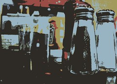 CONDIMENTS (Joe Desiderio) Tags: mustard ketchup salt pepper