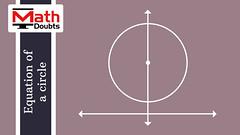 Centre of circle lies on y-axis (Math Doubts) Tags: equationofacircle equation circle geometry mathematics math maths mathdoubts