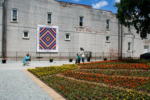 Downtown Wakarusa, Wakarusa - Sunshine in Flowers gardenwnWakarusa_Week3