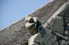 DSC_4966 (bpmm) Tags: benodet bretagne finistère ardoise chapelle sculpture toit