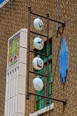 Masonic Temple, Oberlin, KS (Robby Virus) Tags: oberlin kansas ks masonic sign signage masons freemasons fraternal organization art deco