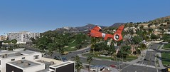 LA Scenery | GTAV (Razed-) Tags: los angeles scenery helicopter chopper coast guard california beverly hills grand theft auto gtav rockstar games naturalvision remastered mod pc gaming
