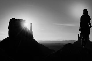 Aurora - Goddess of the Dawn - Göttin der Morgenröte - Monument Valley
