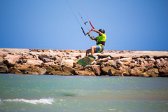 Kite Surfing A17 (ian_woodhead1) Tags: kitesurfing kite surfing playaelrebollo guardamar guardamardelsegura spain beach