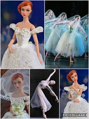 Giselle (Dolldiva67) Tags: giselle ballet sylphs ballerina poppy parker integrity toys fashion royalty white blue mood changers red hair